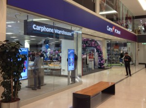 Carphone Warehouse, Jervis SC